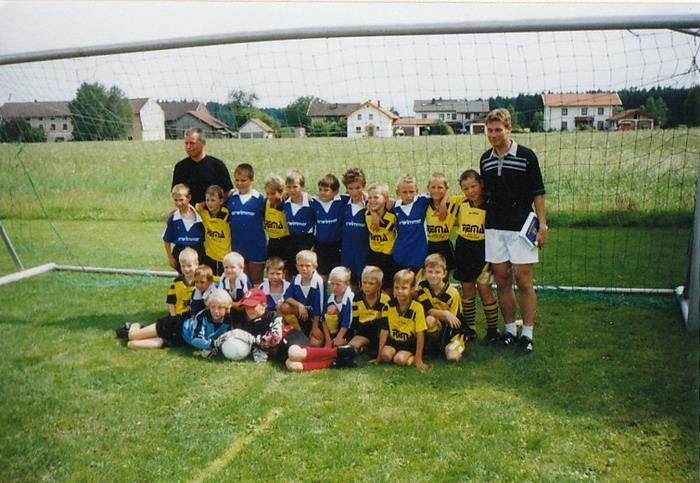 2001 F-Jugend Mannschaftsfoto