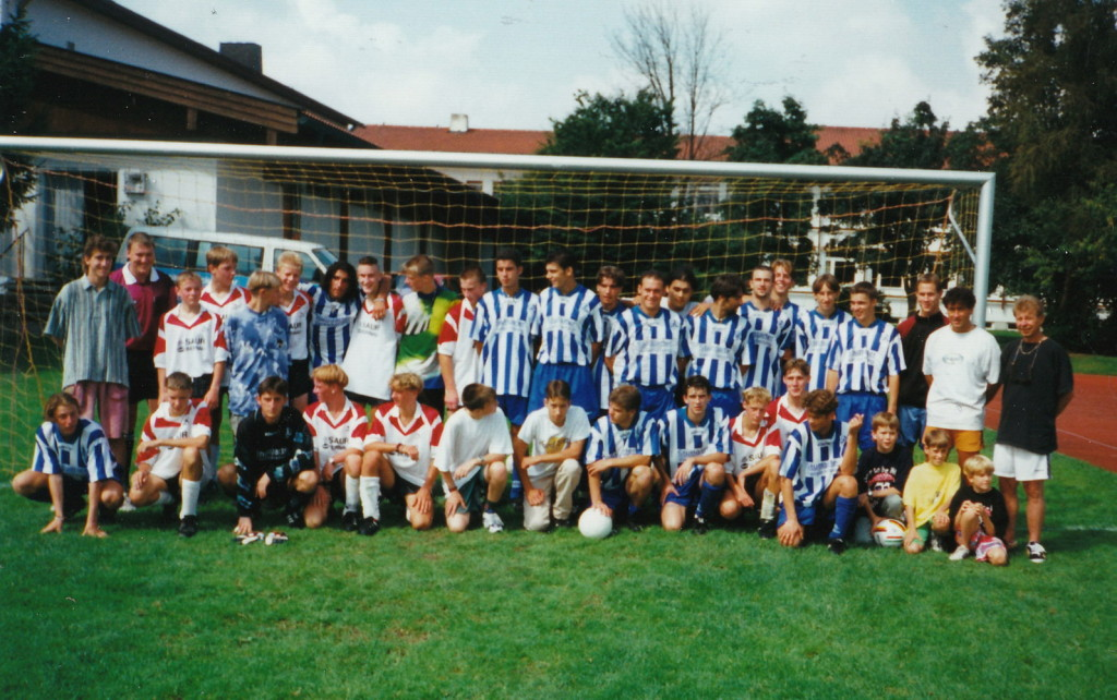 August 1996 SV Seeon TuS Kienberg - Stuttgarter Kickers 0-9